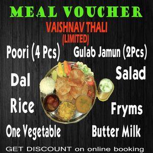 Vaishnav Thali Voucher