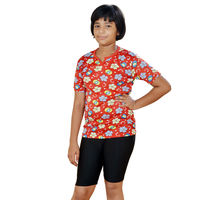 Red T-shirt With Slack for Girls, m