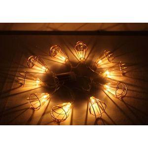 Decorative Cone Shape Fluorescent LED Light,  copper, l 165cm, metal