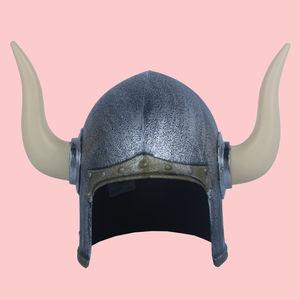 Metal Color Plastic Gladiator - Roman Helmet, plastic, 34   27   18 cm,  silver