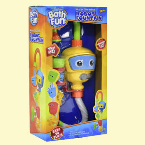Robotic Fountain Fun Bath Toy For Kids,  yellow, 23   12.5   43 cm, plastic