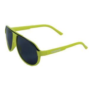 Neon green fancy sunglasses for kids, plastic, 13   3   5 cm,  yellow