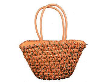 Orange Shoulder Bag for Women