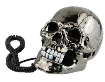 Skull Telephone Handset