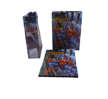 Small Spider-Man Blue Carry Bag - Set of 12, s