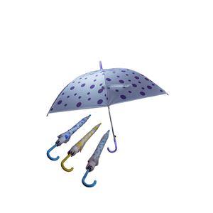Polka Dot Umbrella for Women,  yellow