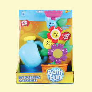 Bath Fun Tree Fountain Bath Toy for kids,  pink, 21   10   27.5 cm, plastic