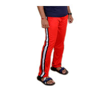 Orange Track Pant for Men, xxl,  orange