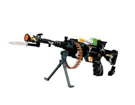Fab5 Combat Gun Df9218B (Black, Pack Of 1), black