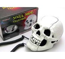 Skull Telephone Handset,  white