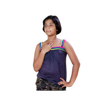 Purple Sleeveless Top for Girls,  purple