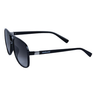 Colorful Oval Fancy Sunglass, plastic, 15   3   7 cm,  black