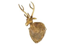 Handecor Vintage Deer Head Wall Hanging Showpiece - 22.5 cm