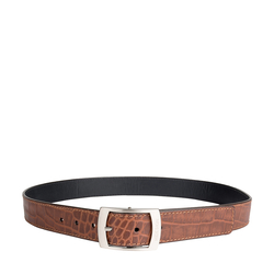 Lucas Men's Belt Croco Ranch, 42,  tan