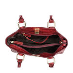 Subra 01 Women s Handbag, Lizard,  red