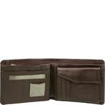 L106 Men s Wallet, Regular,  brown