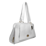 Orsay 03 Women s Handbag,  white, croco