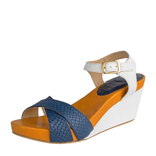 Sophia Women s Shoes, Snake Ranch, 39,  midnight blue