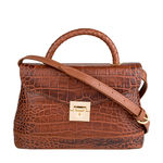 Epocca 03 Women s Handbag, Croco Melbourne Ranch,  tan