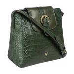 Sb Lyra Women s Handbag Croco,  emerald green