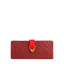 Yangtze W1 (Rfid) Women's Wallet, Elepant Ranch,  red