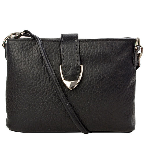 Norah W1-616 Sling bag, pebble,  black