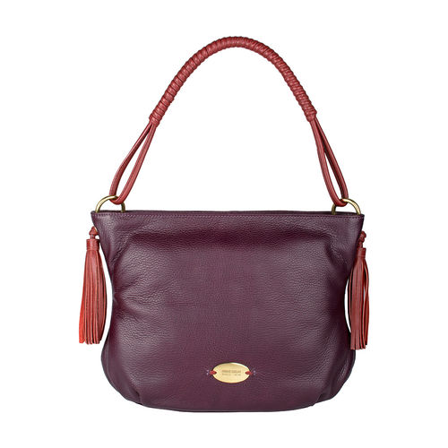Nappa 02 Handbag,  purple