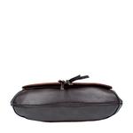Meryl 03 Women s Handbag, E. I. Leaf Emboss Roma Split,  tan