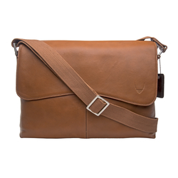 Melrose Place 03 Men's Messanger Bag, Regular,  tan