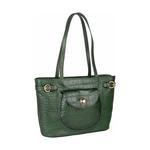 Croco 03 Women s Handbag, Croco Melbourne Ranch,  green