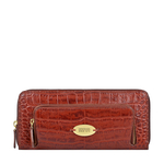 KATNISS W1 (RF) SB WOMENS WALLET CROCO POLISHED,  marsala