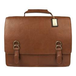 Neil Briefcase,  tan, regular