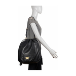 Vanilla 01 Women s Handbag Lamb,  black