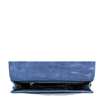 Ee Elsa W1 Women s Wallet, Croco,  blue