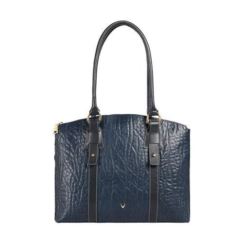 HIDESIGN X KALKI SAMURAI 01 WOMEN S SHOULDER BAG ELEPHANT,  midnight blue