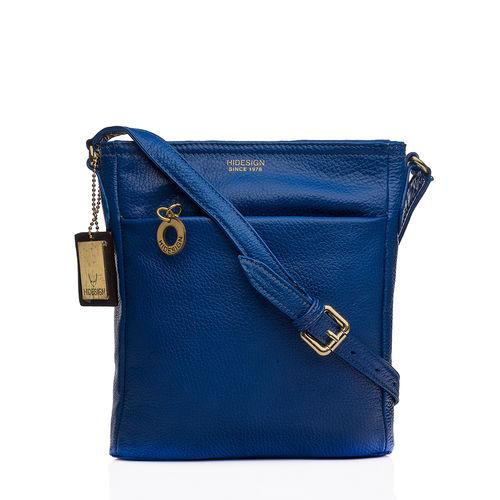 Lucia 03 Women s Handbag, Cow Deer,  prussian