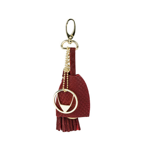 Collette (Kc) keychain, snake,  brown