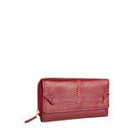 Stitch W3 (Rfid) Women s Wallet, Roma Melbourne Ranch,  red