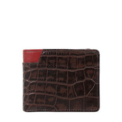 311 36 Sb (Rfid) Men's Wallet Croco,  brown