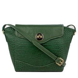 Sb Gisele 02 Women's Handbag, Croco Melbourne Ranch,  emerald green