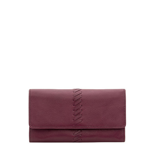 Sebbie W1 (Rfid) Women s Wallet, Regular,  aubergine