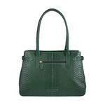 Shanghai 01 Sb Women s Handbag, Snake Melbourne Ranch,  emerald green