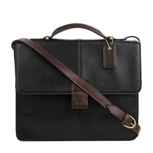 Arad 01 Briefcase, regular,  black