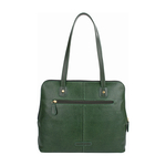 Hong Kong 02 Sb Women s Handbag, Lizard Melbourne Ranch,  emerald green