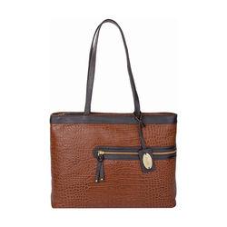 Tokyo 02 Sb Women's Handbag Croco,  tan