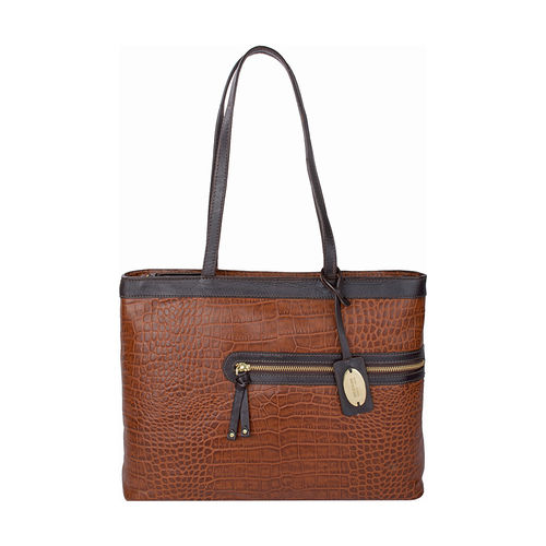 Tokyo 02 Sb Women s Handbag Croco,  tan