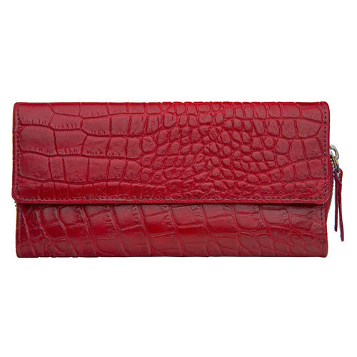 526 Women s Wallet, Croco,  black, croco