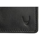 277 F031Sb Passport wallet,  black, lamb
