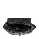 SB GISELE 02 WOMEN S HANDBAG CROCO,  black