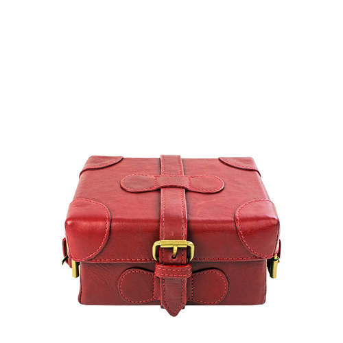 Small Boxy Women s Handbag, Roma Maori,  red